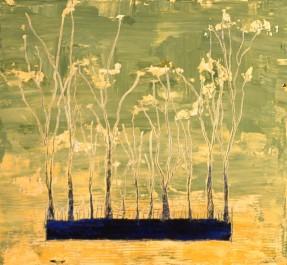 Horizon # 1, huile sur toile, 24 X 26 po (vendu)
