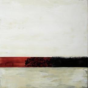 Pont J-C, huile sur toile, 30X30po, 2012