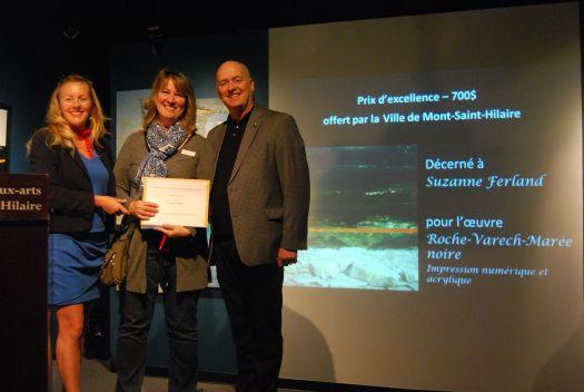 Prix d'excellence 2016 - Musée des beaux-arts de Mont St-Hilaire Roches-Varech-Marée noire