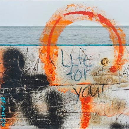 Life for You_Impression numérique et acrylique, sur papier coton marouflé sur bois_20po X 20 po